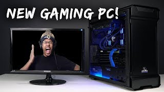 MY FIRST GAMING PC!! | The Conqueror Advanced | [UNBOXING] - Sponsored by Ironside Computers