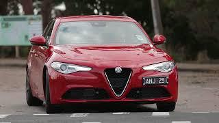 Zagame Alfa Romeo Giulia Drive Experience.