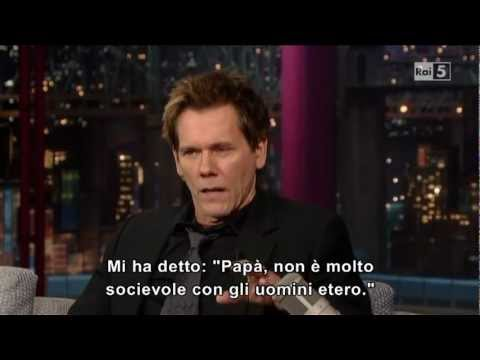 Kevin Bacon al David Letterman 18-01-2013 (sub ita)