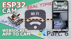 ESP32 CAM | Flutter App - [Part.6] In wireless directly, Dashcam app connecting ESP32CAM(AP Mode)