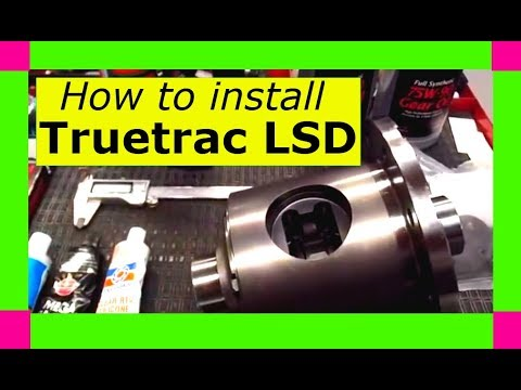 How to install a Detroit Locker Truetrac limited slip differential carrier. 8.5 8.6 8.625 true-trac