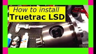 How to install a Detroit Locker Truetrac limited slip differential carrier. 8.5 8.6 8.625
