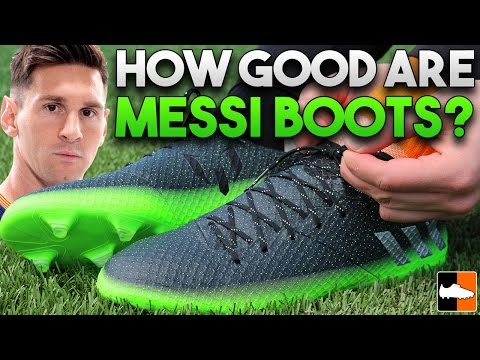 Messi Space Dust Boots Tested -adidas Lionel Messi 16.1