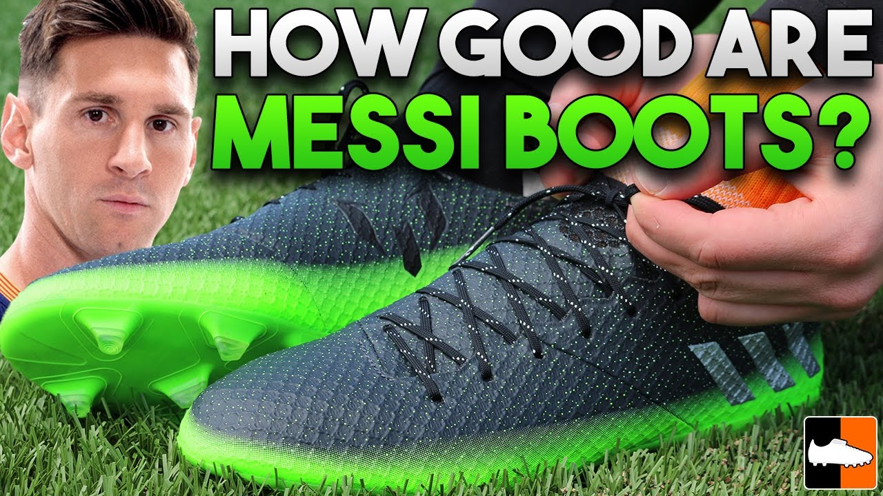 893f699e67f Messi Space Dust Boots Tested - adidas Lionel Messi 16.1 - YouTube