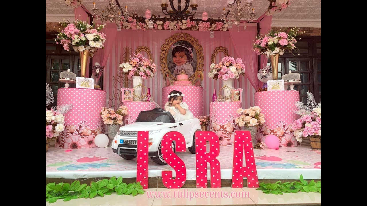 Fairy Princess Birthday 1st Birthday Party Theme Decor Ideas In Pakistan Youtube