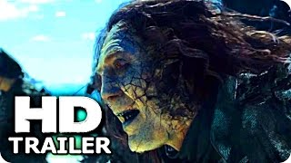 pirates of the caribbean 5 ghosts trailer 2017 johnny depp disney movie hd