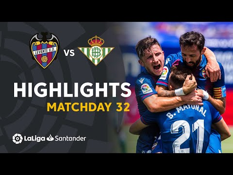 Levante Betis Goals And Highlights