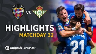 Highlights Levante UD vs Real Betis (4-2)