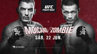 UFC Greenville en VIVO Sábado 22 de junio