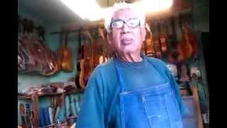 Eusebio Rincón Aguilar-5 Laudero Mexicano 60 años de experiencia