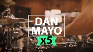 Download lagu 5 Versions of 1 Drum Solo by Dan Mayo Music by Alastair Taylor MP3
