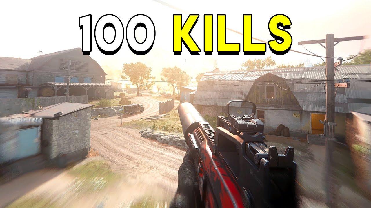 Breaking 100 Kills! - Call of Duty: Modern Warfare (Ground War) thumbnail