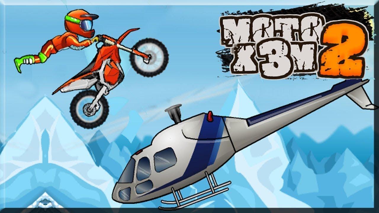 Juego De Motos Para Ninos Juegos Dibujos Animados Moto X3m