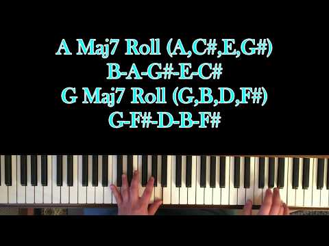 How to Play Prelude to a Kiss by Alicia Keys on Piano with Chords!