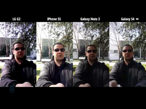 Front-facing camera comparison between 8 flagships: video capture, part 1/2