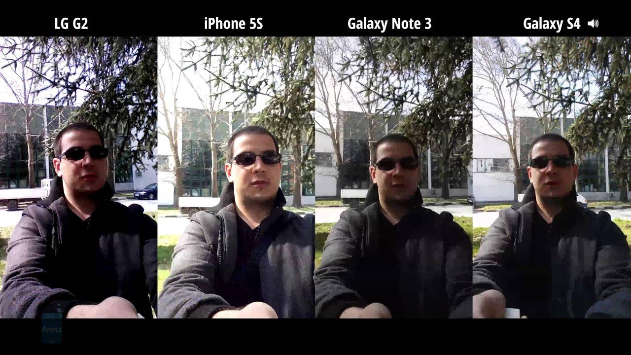 Front-facing camera comparison between 8 flagships: video capture ...