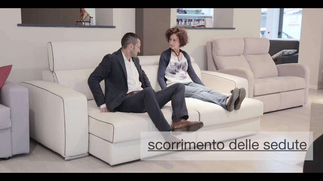 Divani relax | Divani con sedute scorrevoli | Colombo Salotti ...