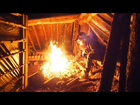 Bushcraft Evening In The Bug Out Camp