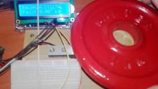 Balanza digital de hasta 20Kg con celda de carga y transmisor HX711