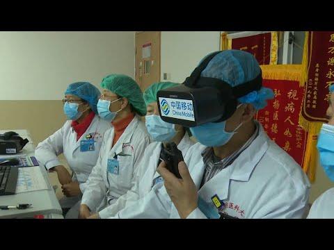 """5G+VR"" System Allows Remote Diagnosis In Coronavirus Fight"