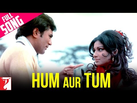 Hum Aur Tum - Full Song   Daag   Rajesh Khanna   Sharmila Tagore