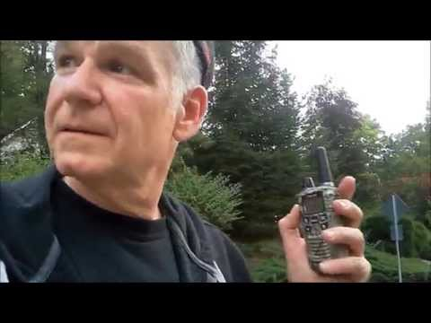 MIDLAND Walkie Talkie Radio Test / Fall Walk with the P.T.P