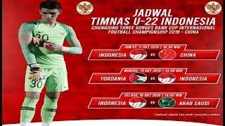Jadwal Terbaru Timnas Indonesia U-23 Di Cfa 2019, Internasional Football 2019