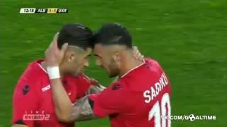 Невероятный гол Армандо Садику | Албания-Украина |