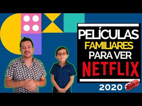 Películas familiares en NETFLIX | 2020