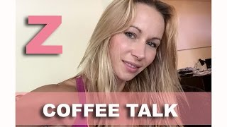 Coffee talk with Z - Cravings and Plastic Surgery