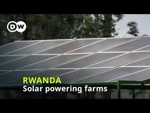 Energy: Solar power for Rwandan farms