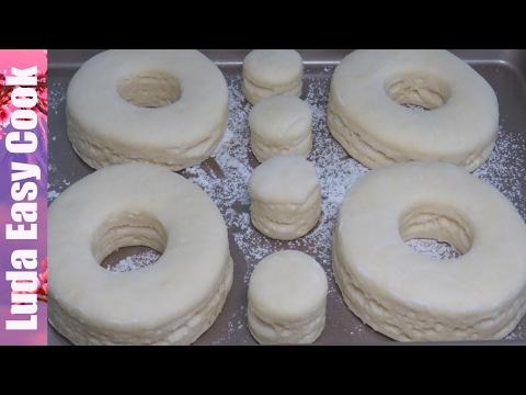 Рецепт ТЕСТО КРОНАТЫ СЛОЕНОЕ Дрожжевое ТЕСТО / Самый Быстрый и Простой способ - Puff Pastry Recipe без регистрации