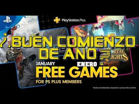 Juegos Gratis Playstation Plus Enero 2019 Buen Mes Youtube