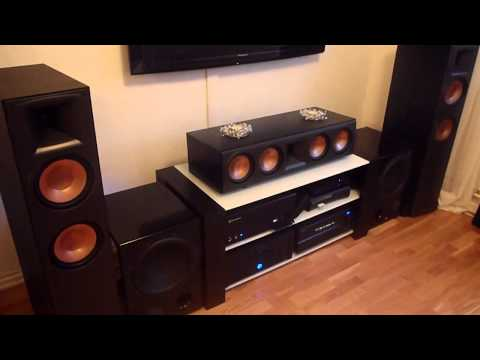 Home theater flexing with bassotronics - bass i love you