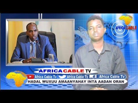 QODOBADA WARKA AFRICA CABLE TV BY CABDIRAXMAN WADANI JOWHAR 18 6 17