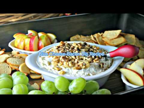 Blue Cheese Bacon Dip Recipe  (Christmas Special)