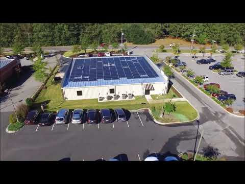 Aiken ENT & Renewable Energy Design Group Solar Video