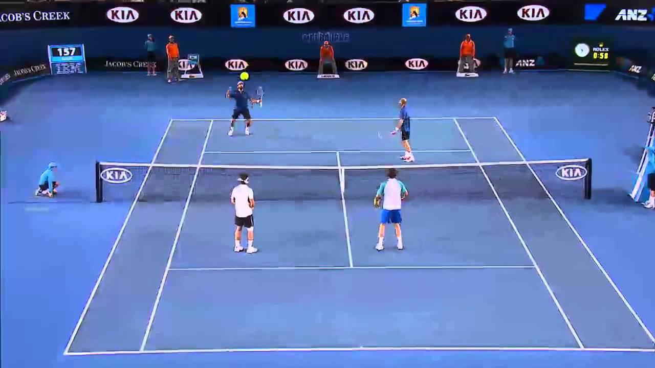 Legends Play Giant Tennis - Australian Open 2013