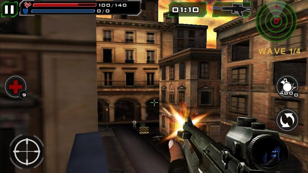 death shooter 3d android game