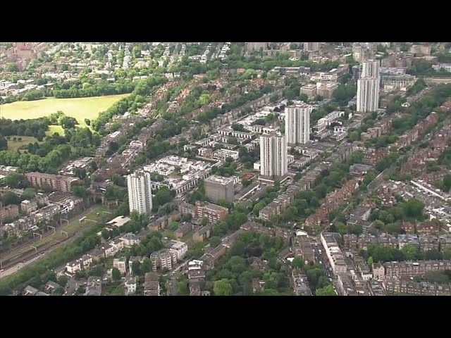 Британские многоэтажки не отвечают нормам пожарной безопасности
