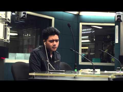 David Ezra - Kahit Isang Saglit @ DZMM Dr. Love Radio Show (May 11, 2015)