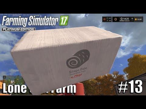 THE LAST SILAGE BALE  Lone Oak Farm   Timelapse #13   Farming Simulator 17
