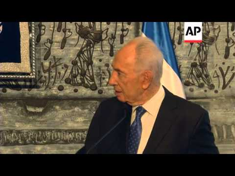 UN chief meets Israeli president, Livni, Yaalon during visit to support peace talks