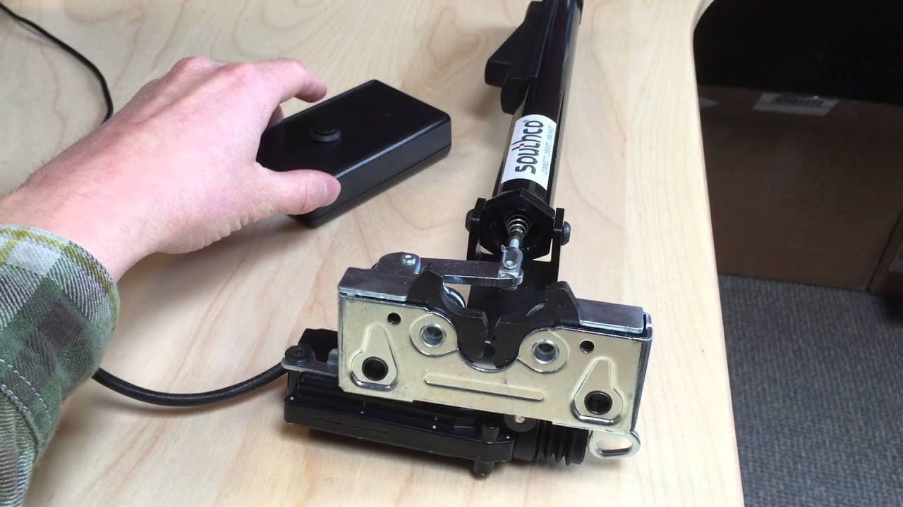 Clancey Sealed Actuator With Double Jaw Rotary Latch Youtube