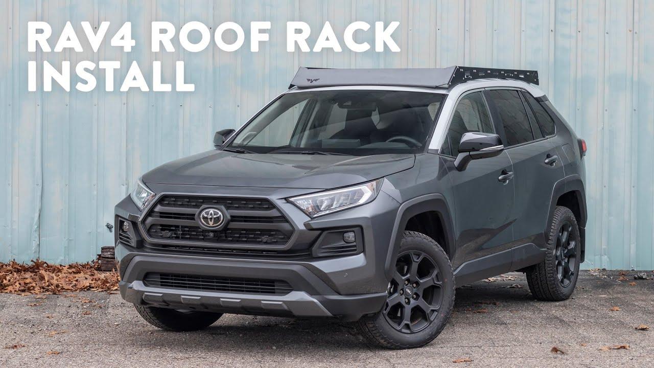 rav4 roof rack install