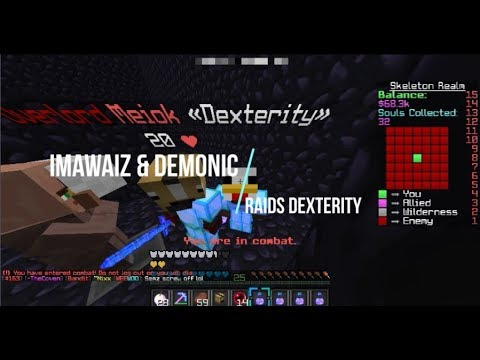 ImAwaiz & Demonic raids Dexterity