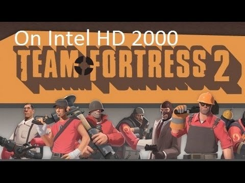 Team Fortress 2 on Intel HD Graphics 2000