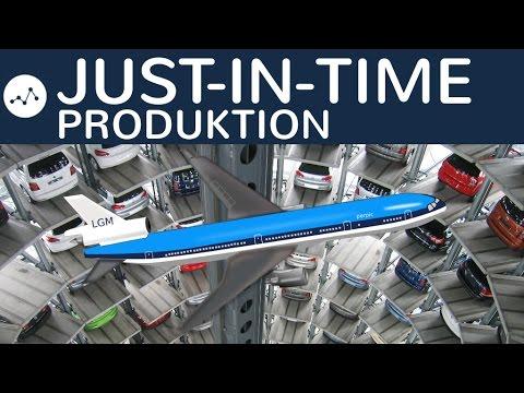 Just-in-time Produktion einfach erklärt -  Ablauf, Vor- und Nachteile, Voraussetzungen, Pro & Contra