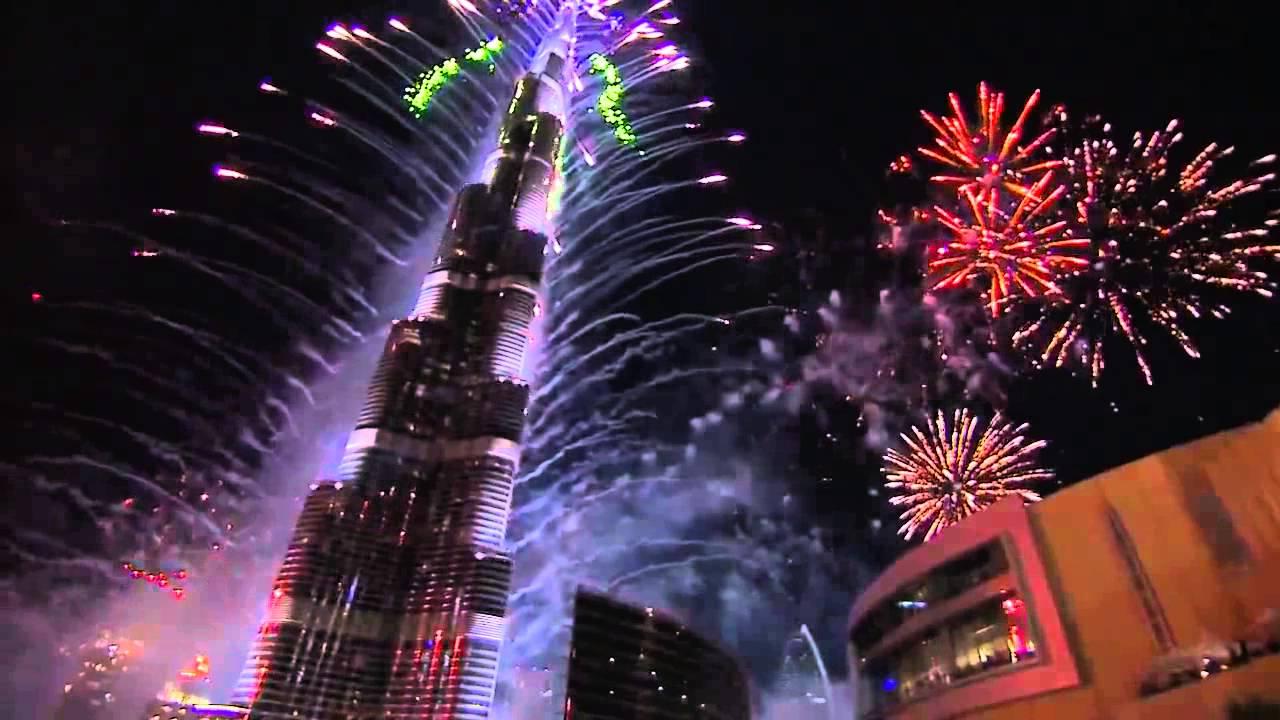 Новогодний салют в Дубае 2014 занесен в Книгу рекордов Гиннесса