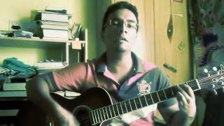 Aakashangalil Irikkum (Naadan Pennu1967) Vayalar, Devrajan Master (guitar cover by ebin mathew)